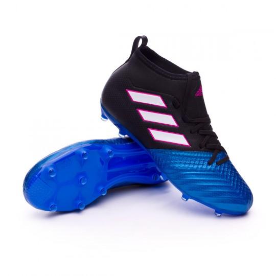 Bota  adidas jr Ace 17.1 FG Core black-White-Blue