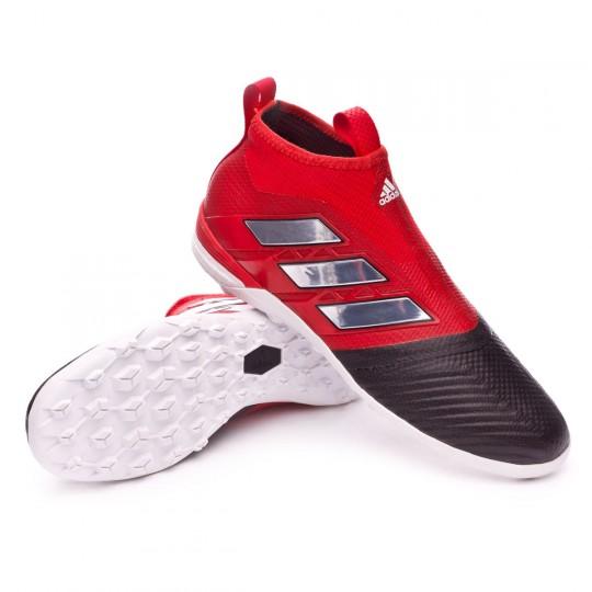 Zapatilla de fútbol sala  adidas Ace Tango 17+ Purecontrol Turf Core black-Red-White
