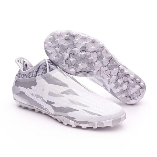 a0a2c1ee24a8 Football Boot adidas X Tango 16+ Purechaos Turf Clear grey-White-Core black  - Football store Fútbol Emotion