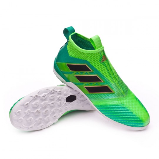 Sapatilha  adidas Ace Tango 17+ Purecontrol Turf Solar green-Core black-Green