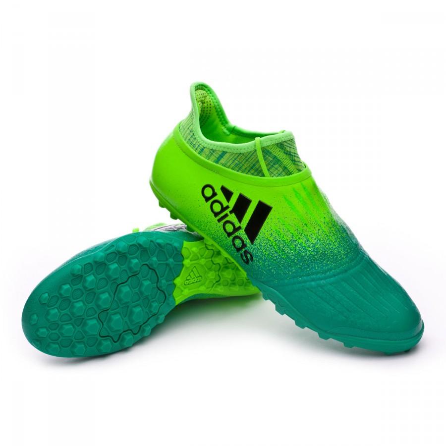 d6ce0a749c8 adidas X Tango 16+ Purechaos Turf Football Boot. Solar green-Core black-Core  ...