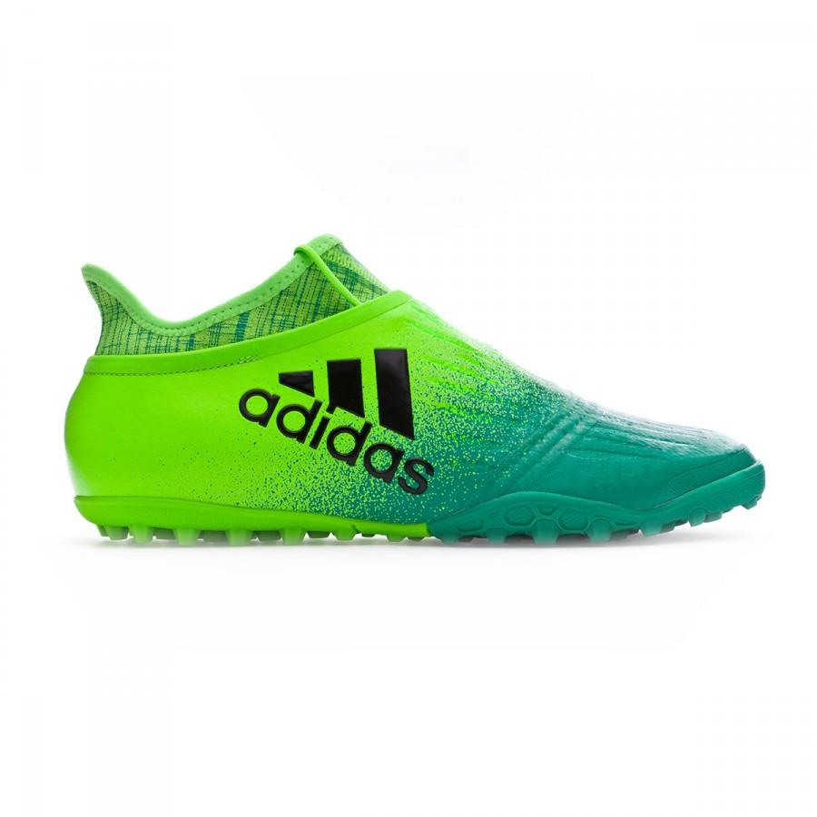 Football Boot adidas X Tango 16+ Purechaos Turf Solar green-Core black-Core  green - Soloporteros es ahora Fútbol Emotion bc0681cded26d