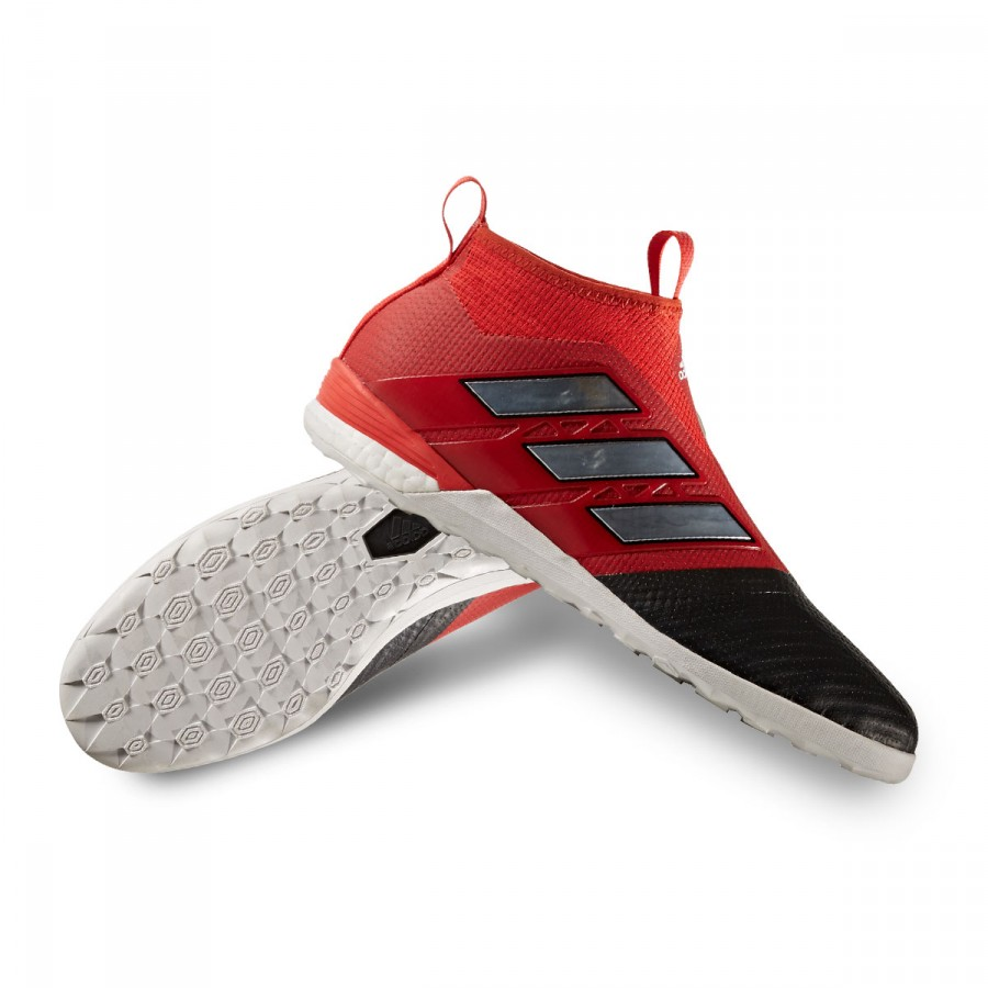 c9c98bf672c30 Futsal Boot adidas Ace Tango 17+ Purecontrol IN Core black-Red-White ...
