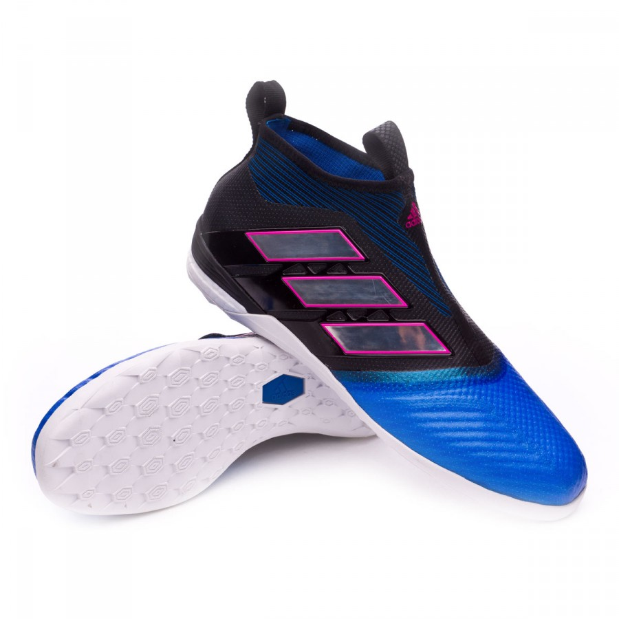Itaca Dictar Repetirse  Futsal Boot adidas Ace Tango 17+ Purecontrol IN Core black-White-Blue -  Football store Fútbol Emotion