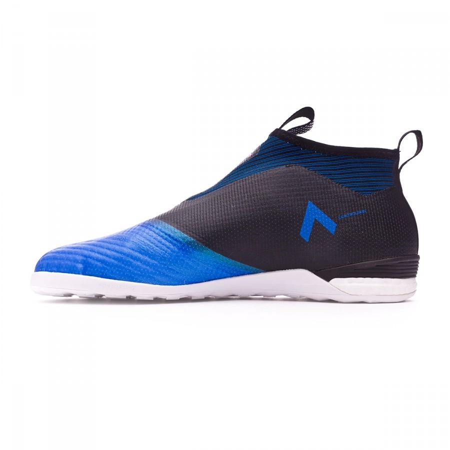 b1af47f8d50c8 Zapatilla adidas Ace Tango 17+ Purecontrol IN Core black-White-Blue -  Tienda de fútbol Fútbol Emotion