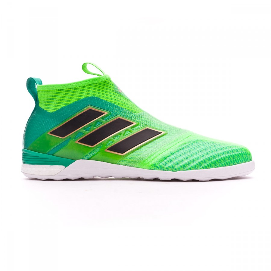 tener Extranjero celestial  Futsal Boot adidas Ace Tango 17+ Purecontrol IN Solar green-Core black-Core  green - Football store Fútbol Emotion