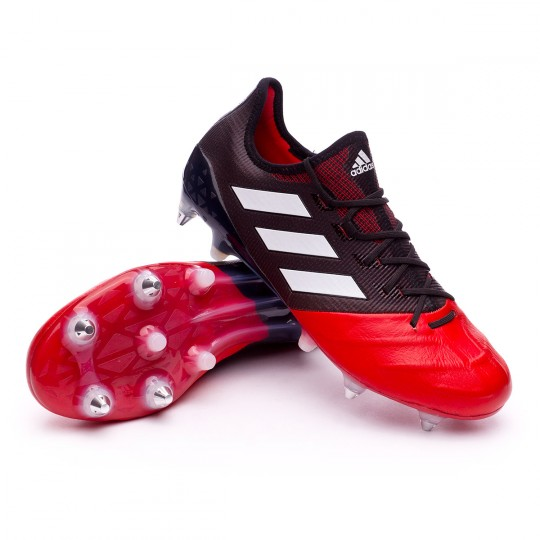 Boot  adidas Ace17.1 SG Piel Core Black-White-Red