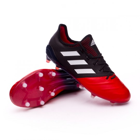 Chaussure  adidas Ace 17.1 FG Piel Core Black-White-Red