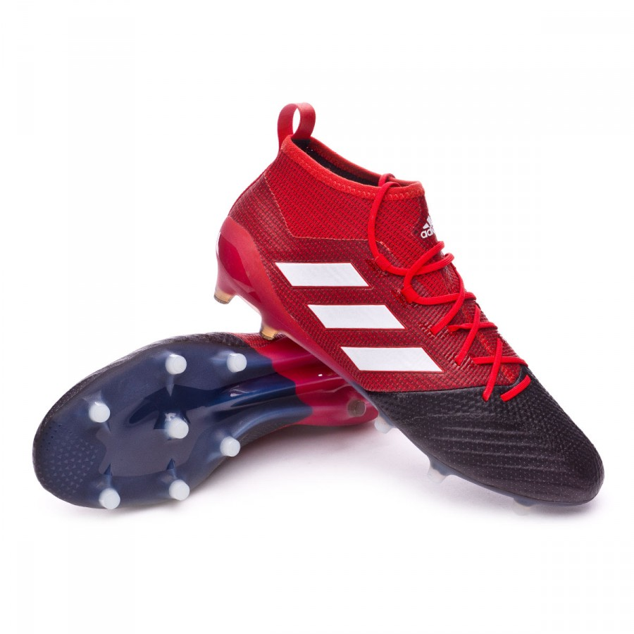 Boot adidas Ace 17.1 Primeknit FG Red-White-Core black - Football store  Fútbol Emotion 77dee03fb8f6
