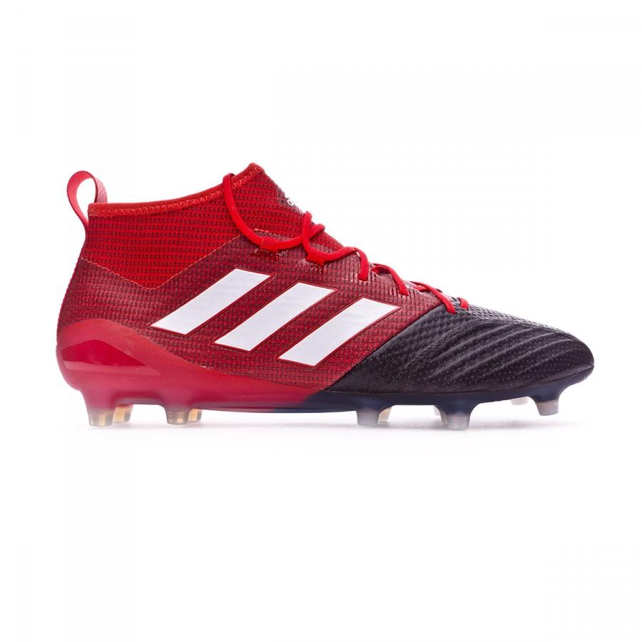 53973a1ea72 Football Boots adidas Ace 17.1 Primeknit FG Red-White-Core black - Tienda  de fútbol Fútbol Emotion