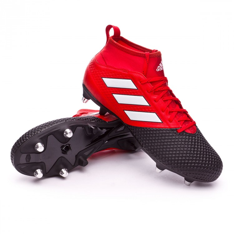 pretty nice bd37b 52801 Bota Ace 17.3 Primemesh SG Red-White-Core black