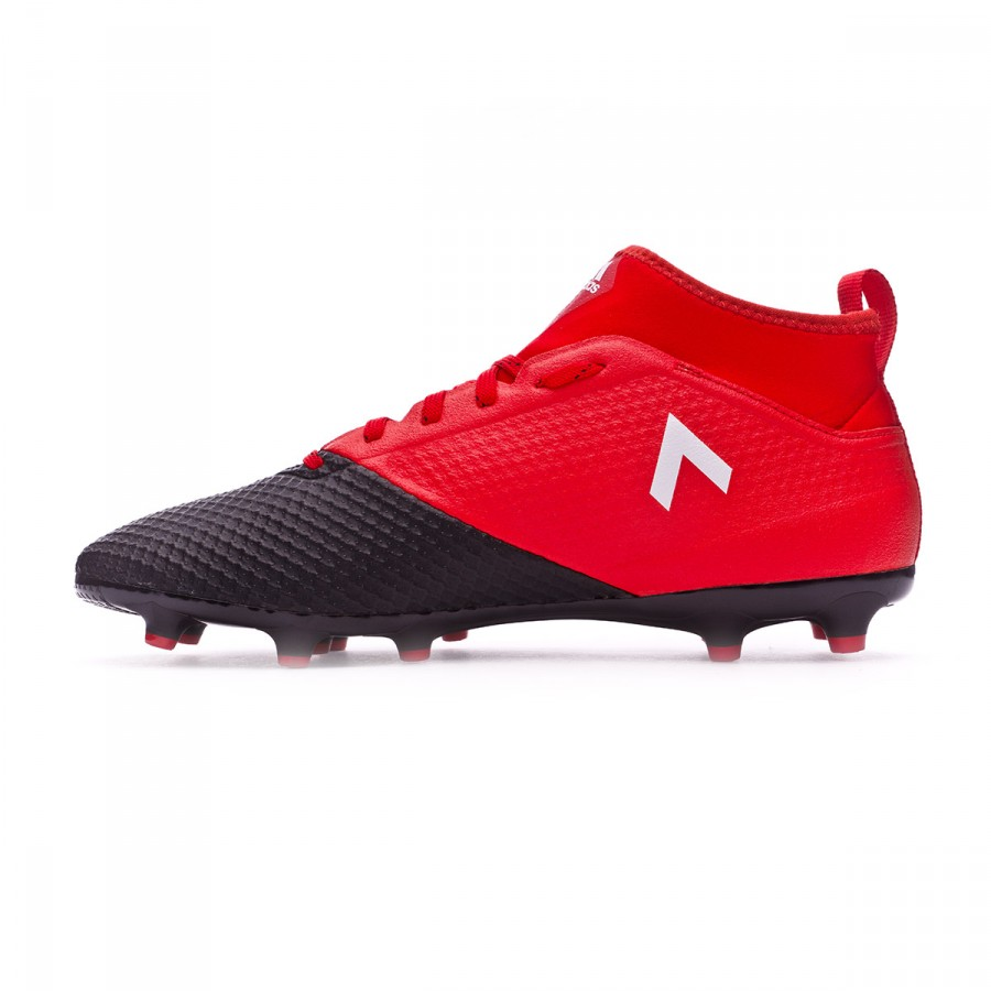 low priced d89d4 b2f64 Bota de fútbol adidas Ace 17.3 Primemesh FG Red-White-Core black - Tienda  de fútbol Fútbol Emotion