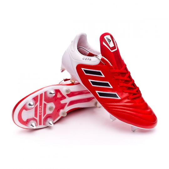 Chuteira  adidas Copa 17.1 SG Red-Core black-White