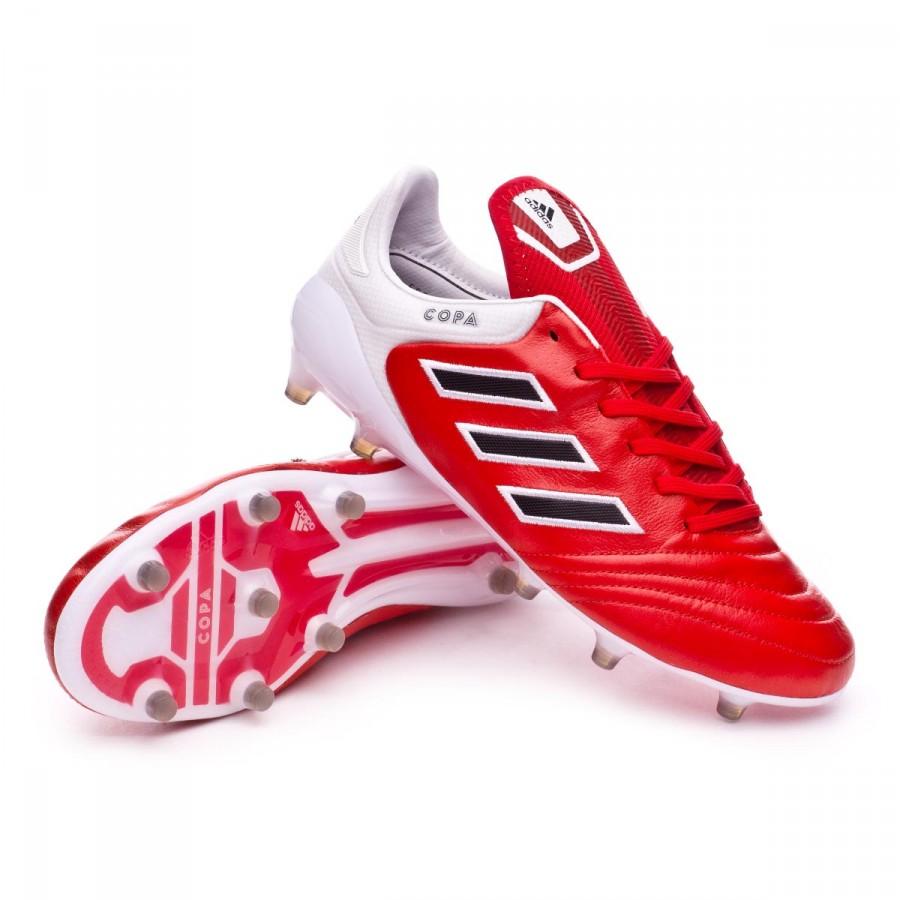 boot adidas copa fg roten kern schwarz - weiße fußball - geschäft