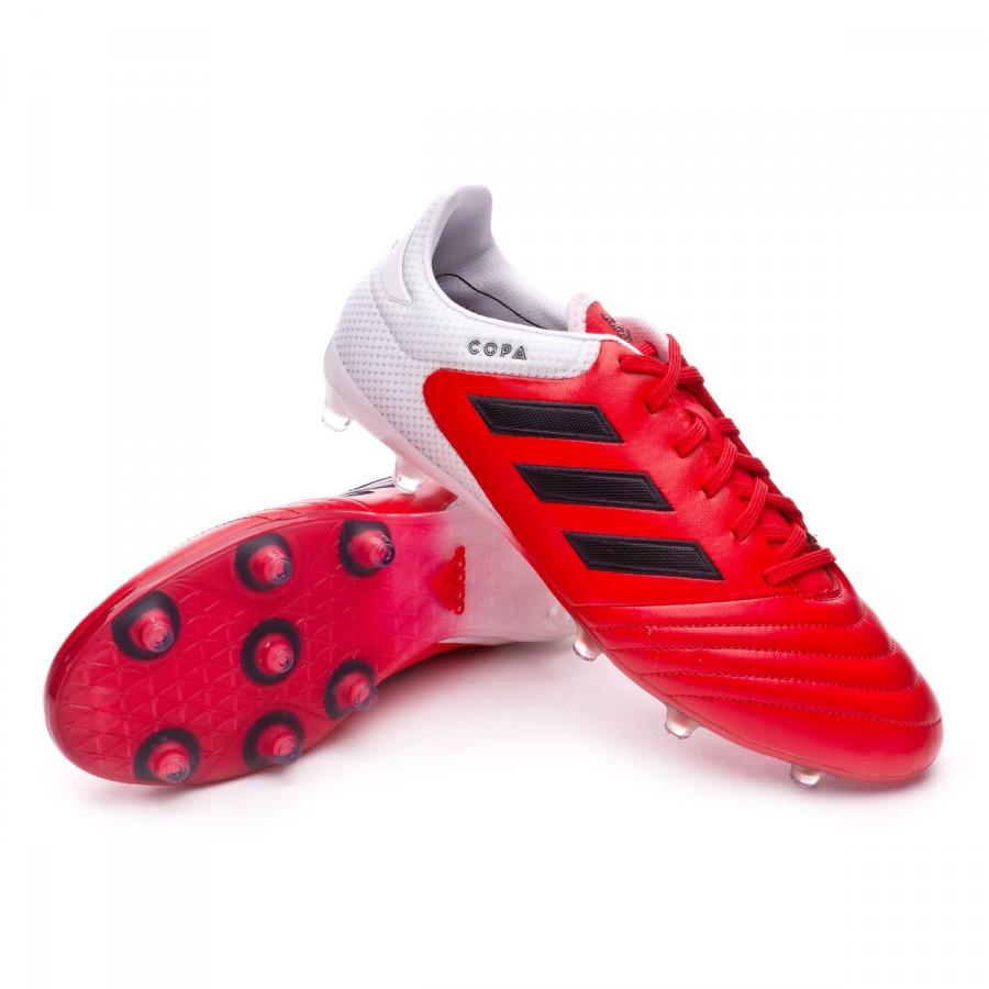 28d79b5fb Football Boots adidas Copa 17.2 FG Red-Core black-White - Football ...