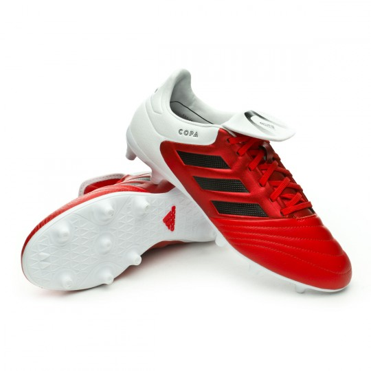 Chuteira  adidas Copa 17.3 FG Red-Core black-White