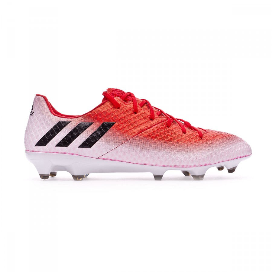 official photos 25cbc bd429 Chaussure de foot adidas Messi 16.1 FG Red-Core black-White - Boutique de  football Fútbol Emotion