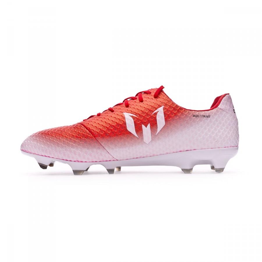 c0dd72bfe75 Football Boots adidas Messi 16.1 FG Red-Core black-White - Tienda de fútbol  Fútbol Emotion