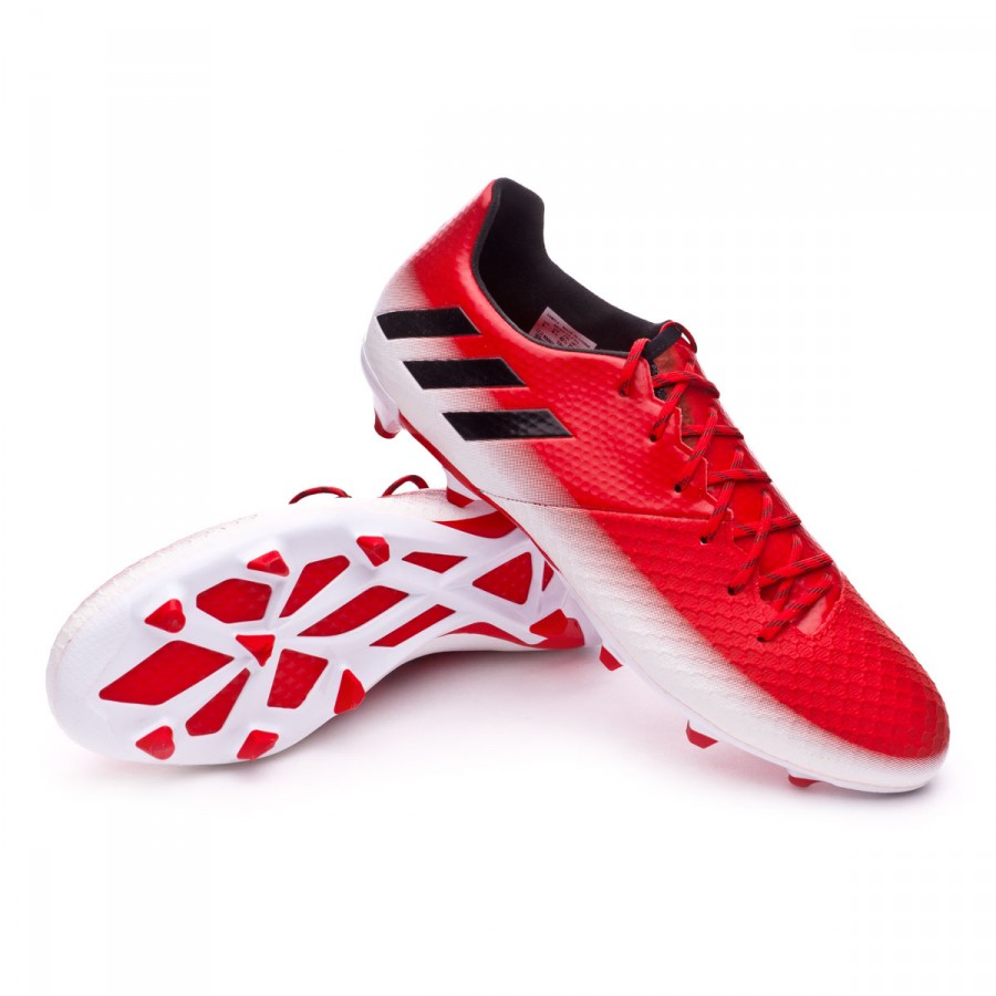b4d3a3cfa41 Football Boots adidas Messi 16.2 FG Red-Core black-White - Tienda de ...