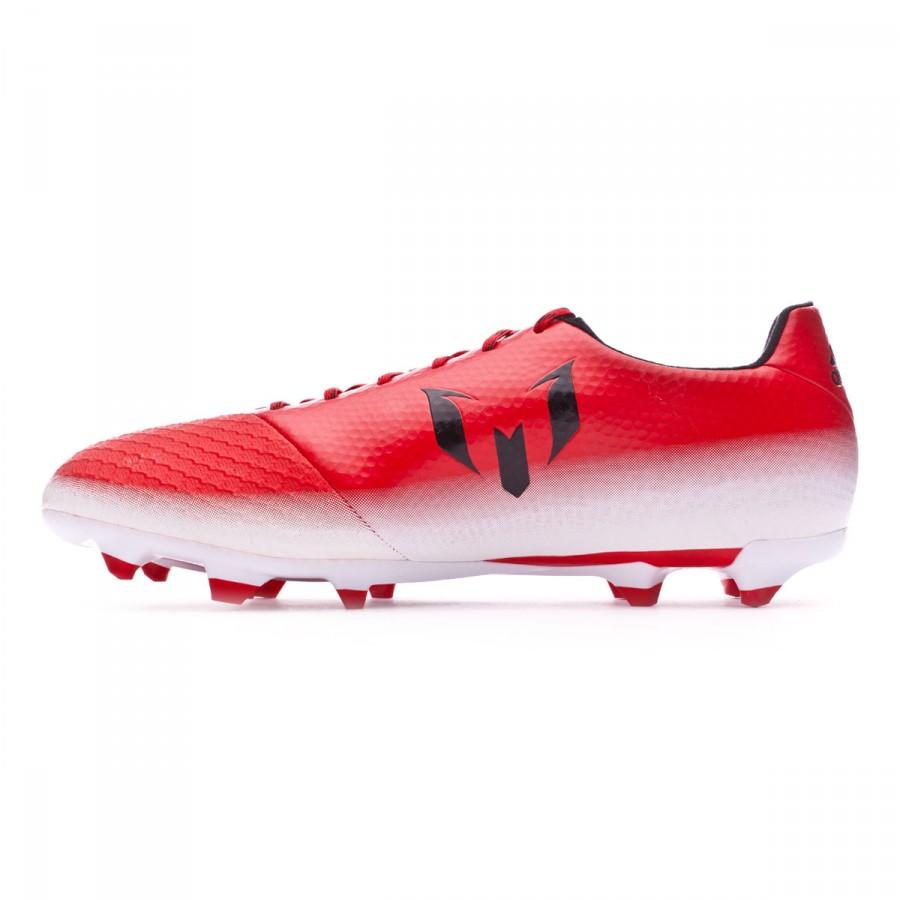 new products 6010a 3e025 Football Boots adidas Messi 16.2 FG Red-Core black-White - Tienda de fútbol  Fútbol Emotion