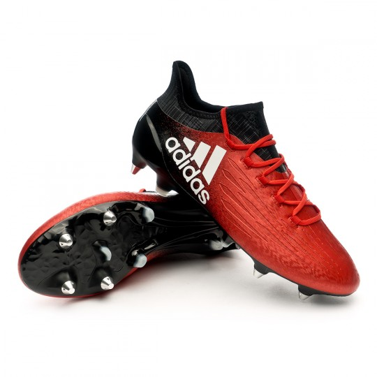 Scarpa  adidas X 16.1 SG Red-White-Core black