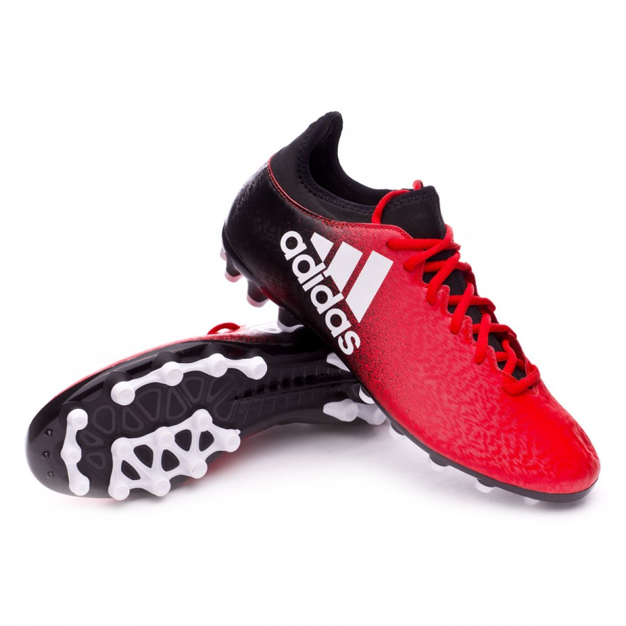 14d20d9cf399 Football Boots adidas X 16.3 AG Red-White-Core black - Football ...