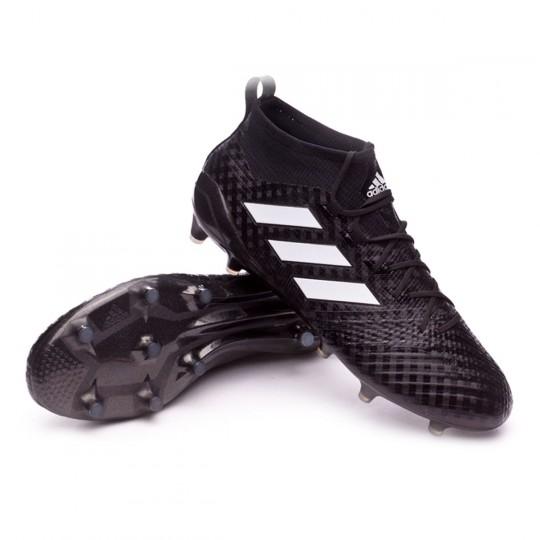 Bota  adidas Ace 17.1 Primeknit FG Core Black-White-Night metallic