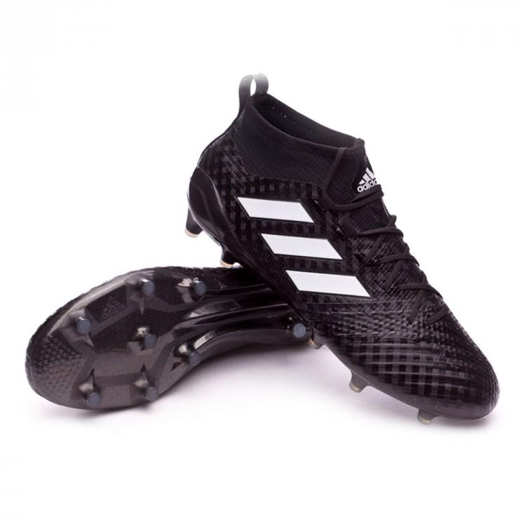 new arrival 779e4 78860 bota-adidas-ace-17.1-primeknit-fg-core-black-