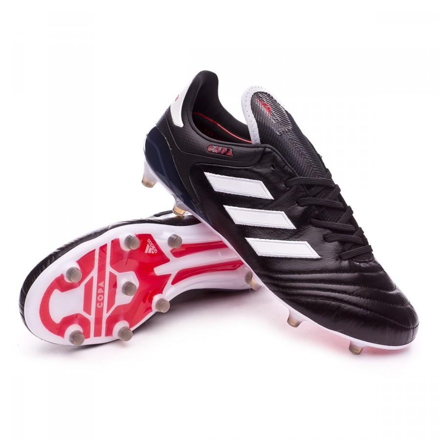 3f9f514267c Football Boots adidas Copa 17.1 FG Core black-White-Core black ...