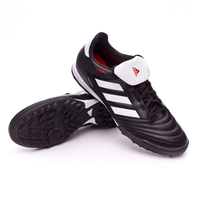 Ocupar Elemental Metro  Football Boots adidas Copa 17.3 Turf Core black-White-Core black - Football  store Fútbol Emotion