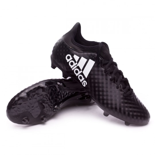 Bota  adidas X 16.3 FG Core black-White-Core black