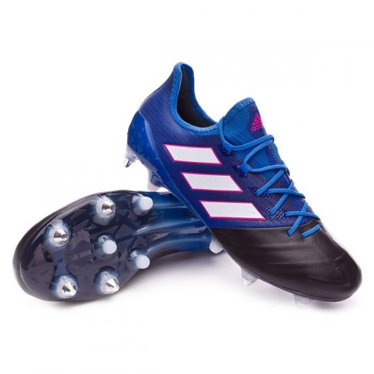 Bota  adidas Ace 17.1 SG Piel Blue-White-Core black