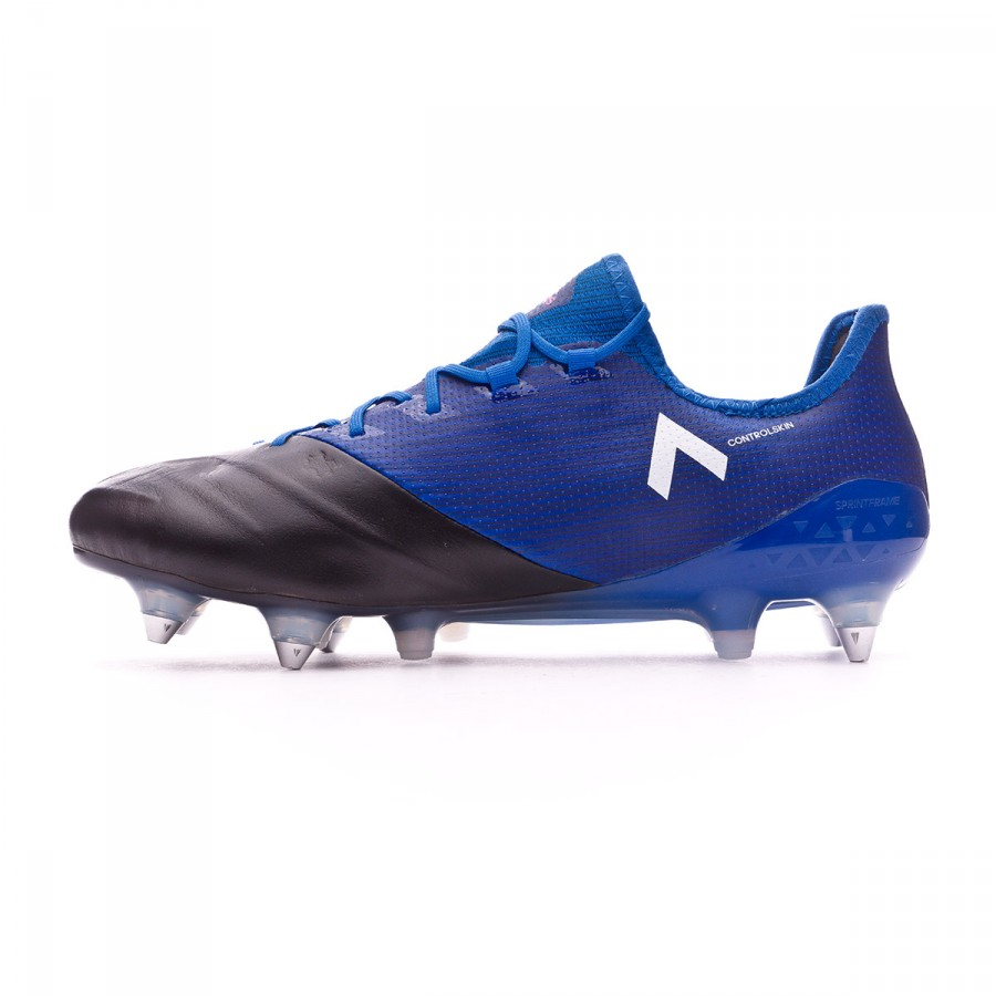 24ac6486a867 Football Boots adidas Ace 17.1 SG Piel Blue-White-Core black - Football  store Fútbol Emotion