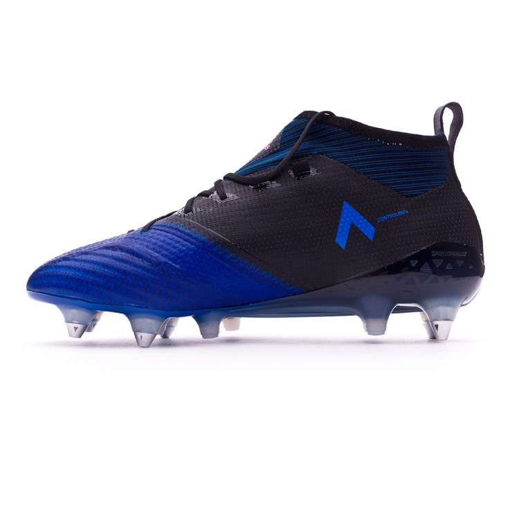 low priced 0d96f 7397c Bota Ace 17.1 Primeknit SG Core black-White-Blue