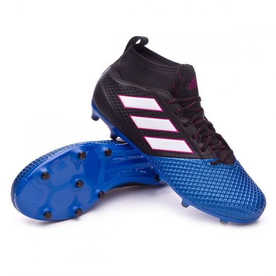 Bota  adidas Ace 17.3 Primemesh FG Core black-White-Blue