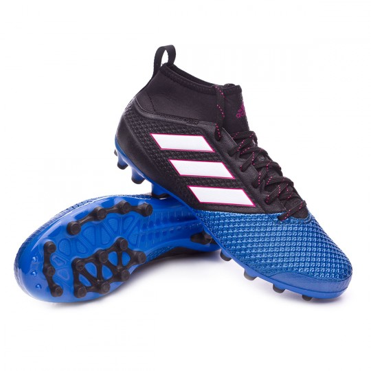 Chaussure  adidas Ace 17.3 Primemesh AG Core black-White-Blue