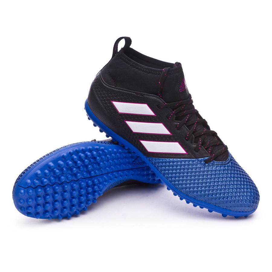 buy popular c27dc 87eaa Scarpe adidas Ace 17.3 Primemesh Turf Core black-White-Blue - Negozio di  calcio Fútbol Emotion