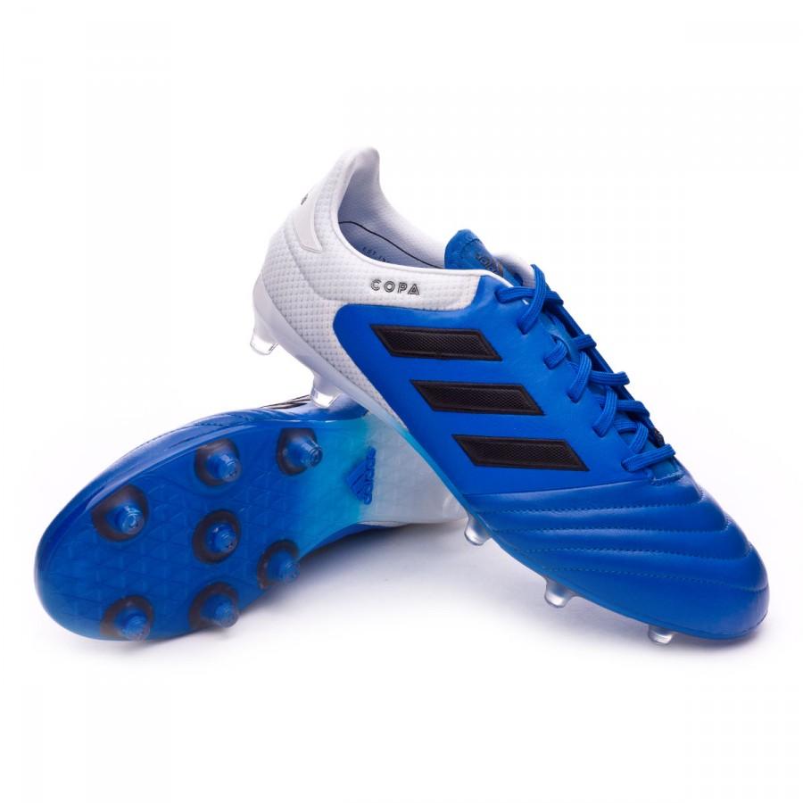 f62ed2deb Football Boots adidas Copa 17.2 FG Blue-Core black-White - Football ...