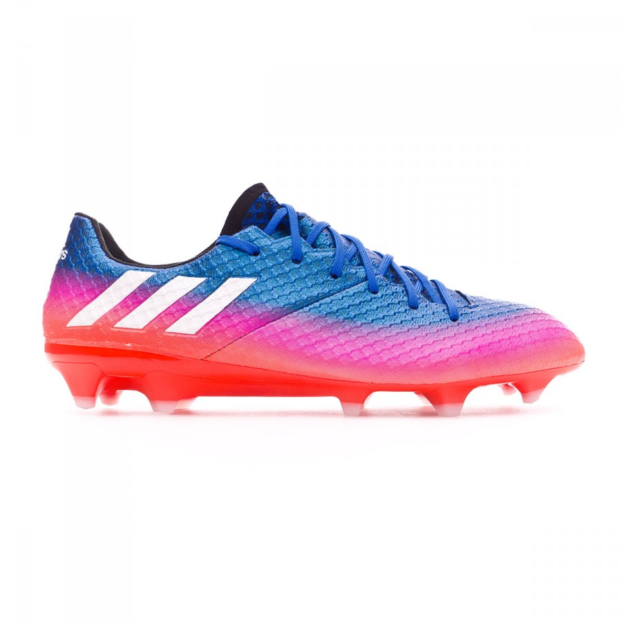 a671928bc Football Boots adidas Messi 16.1 FG Blue-White-Solar orange - Tienda de  fútbol Fútbol Emotion