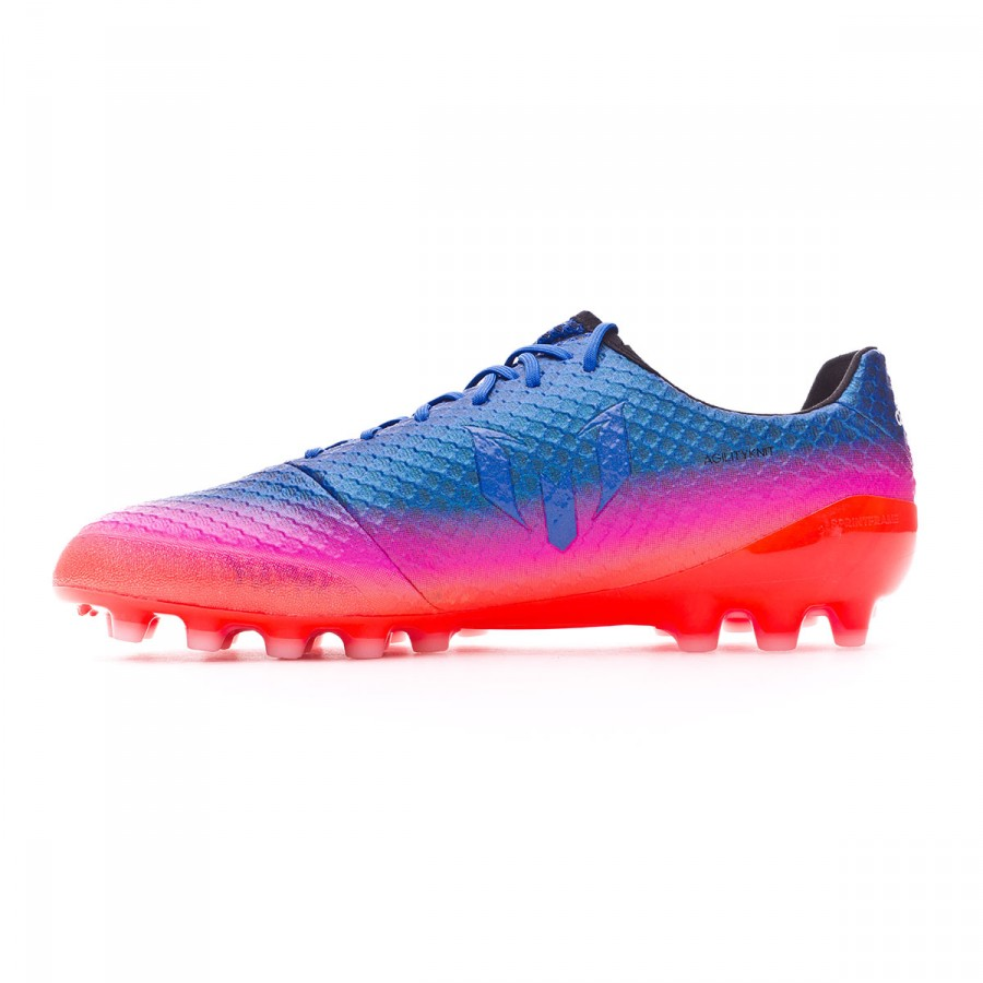 0dad7a8b2 Football Boots adidas Messi 16.1 AG Blue-White-Solar orange - Tienda de  fútbol Fútbol Emotion