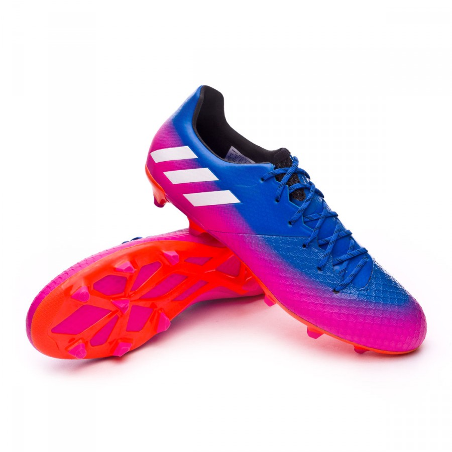 e828db1c0 adidas Messi 16.2 FG Football Boots. Blue-White-Solar orange ...