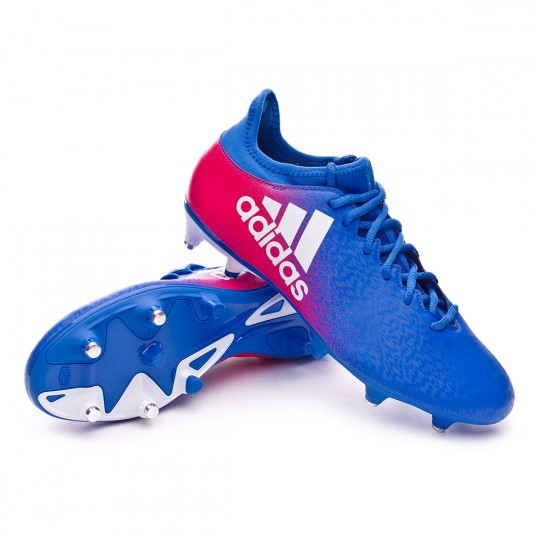 Boot  adidas X 16.3 SG Blue-White-Shock pink