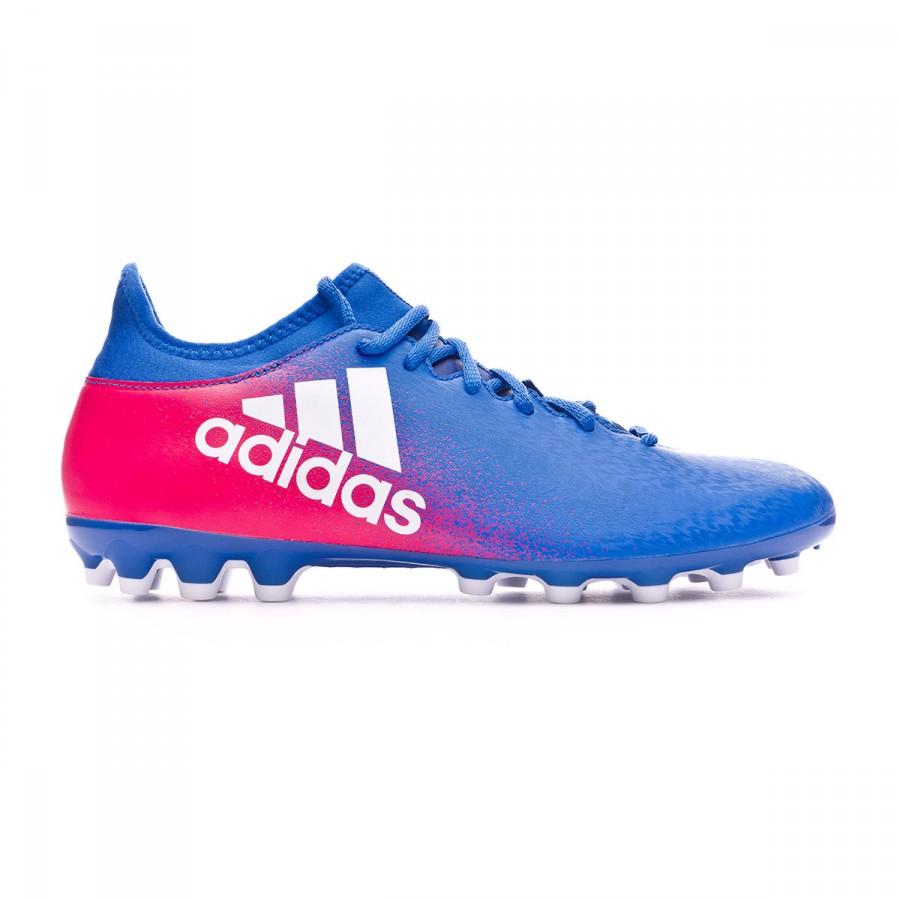 san francisco c93a2 256db Football Boots adidas X 16.3 AG Blue-White-Shock pink - Football store  Fútbol Emotion