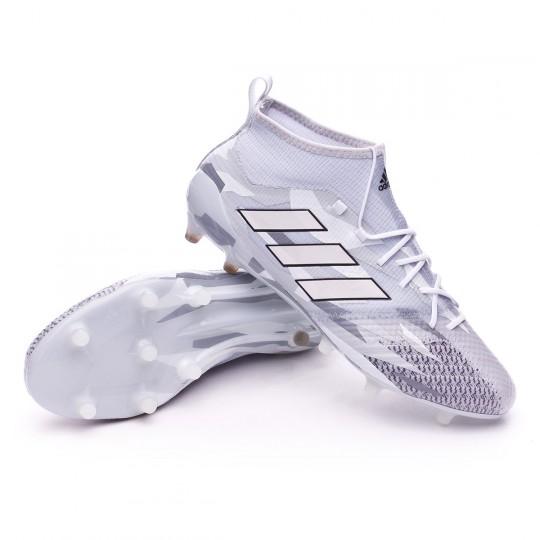 Bota  adidas Ace 17.1 Primeknit FG Clear grey-White-Core black