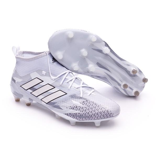 50b47bf6c Football Boots adidas Ace 17.1 Primeknit FG Clear grey-White-Core black - Football  store Fútbol Emotion