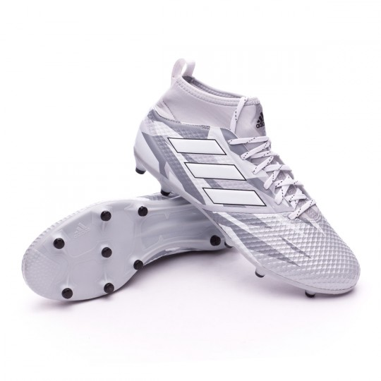 Chaussure  adidas Ace 17.3 Primemesh FG Clear grey-White-Core black