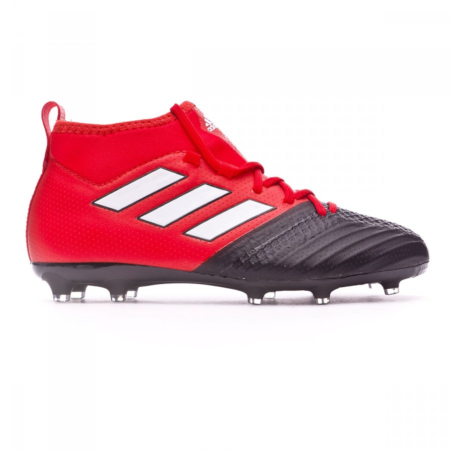 c25a25b78 Football Boots adidas Ace 17.1 FG Kids Red-White-Core black - Football  store Fútbol Emotion