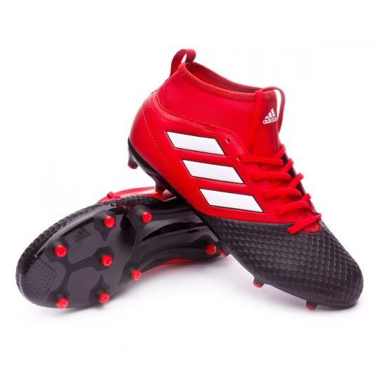 Bota  adidas jr Ace 17.3 FG Red-White-Core black