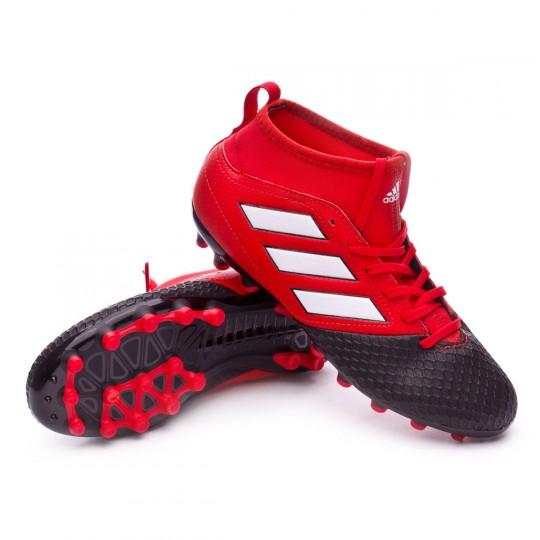 Bota  adidas jr Ace 17.3 AG Red-White-Core black