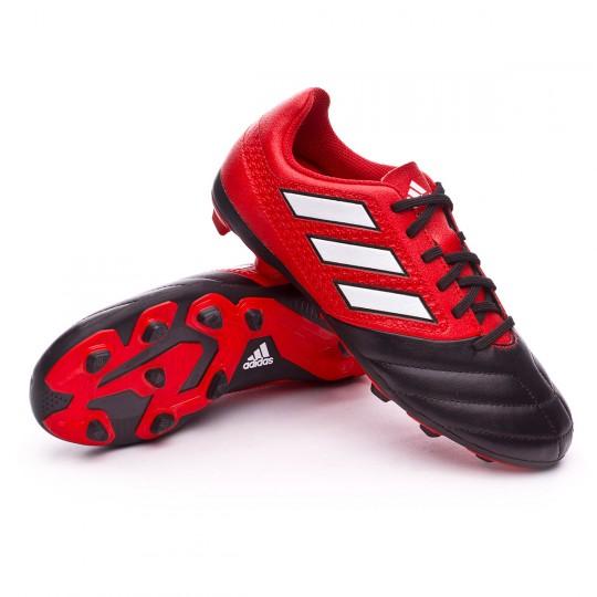 Bota  adidas jr Ace 17.4 FxG Red-White-Core black